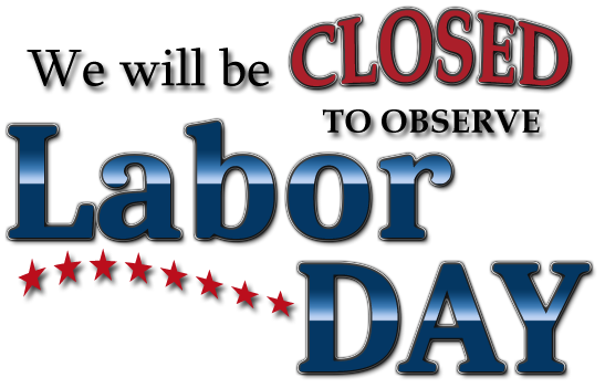 Labor Day - Library CLOSED